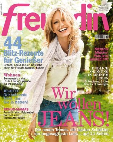 Cover Freundin 18/2011