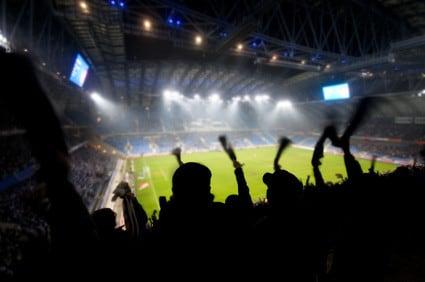 Männer und Fußball