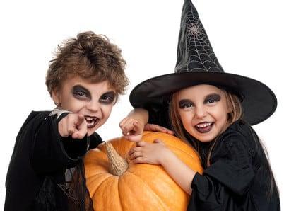 Halloween feiern mit Kindern