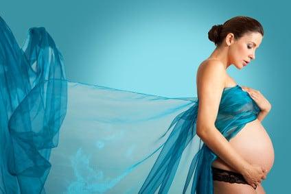 Schönheits- und Modewahn Schwangerschaft