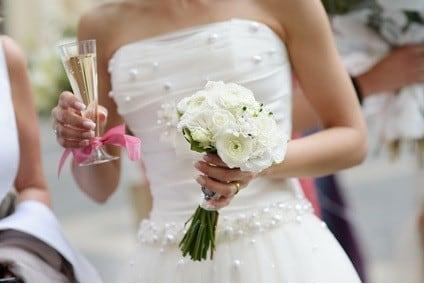 Perfektes Hochzeitsoutfit