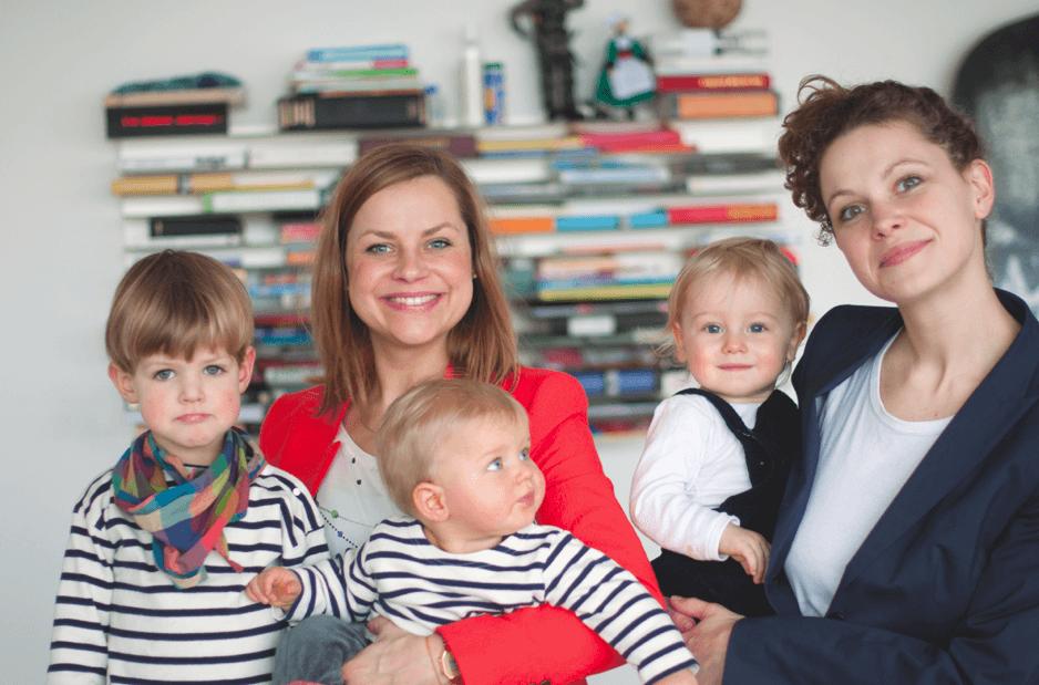 Mama muss die Welt retten Autorinnen