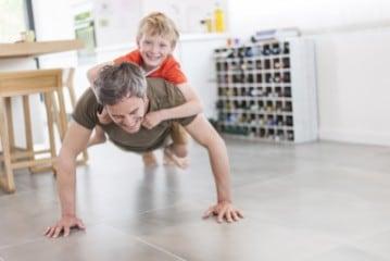 Fitness Vater
