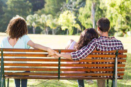 verliebt in Mann der Freundin