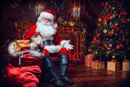 Weihnachtsmann Geschenke