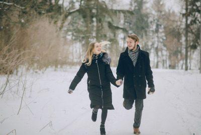 Paar Winter